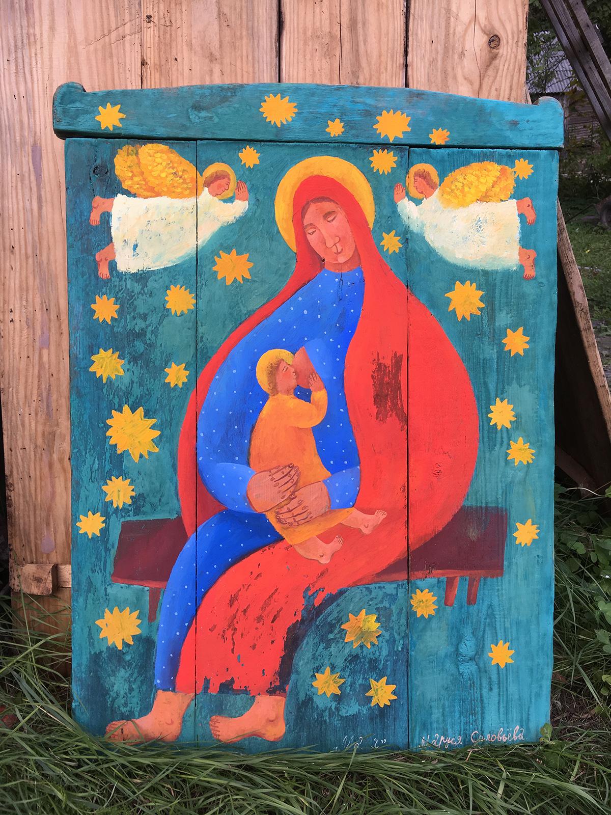 фото воронежская худ картина маруся выполним цветной